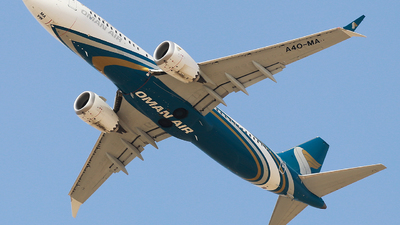 A picture of A4OMA - Boeing 737 MAX 8 - Oman Air - © Oleksiy Naumov