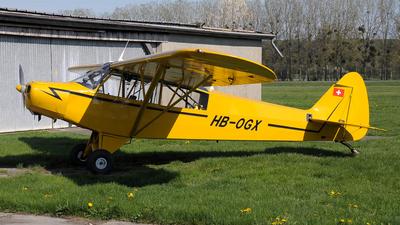 HB-OGX - Piper PA-18-95 Cub - Private
