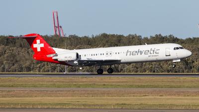 A picture of HBJVG - Fokker 100 - [11478] - © Rory Delaney