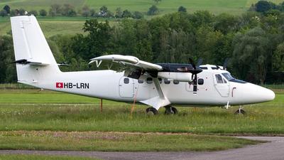 A picture of HBLRN - De Havilland Canada DHC6300 Twin Otter - [636] - © Ramin