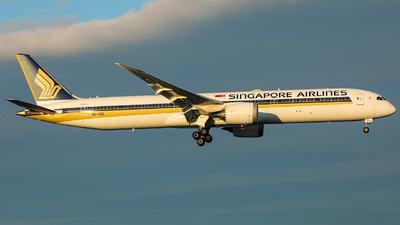 9V-SCL - Boeing 787-10 Dreamliner - Singapore Airlines