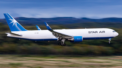 A picture of OYSRV - Boeing 767346F(ER) - Star Air - © Markus Altmann
