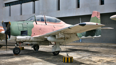 0-37661 - North American T-28D Trojan - Thailand - Royal Thai Air Force