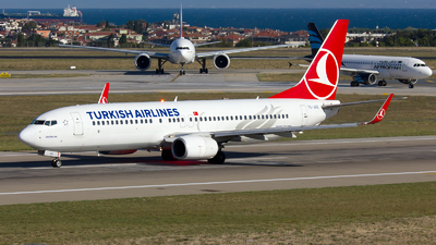 TC-JGG - Boeing 737-8F2 - Turkish Airlines