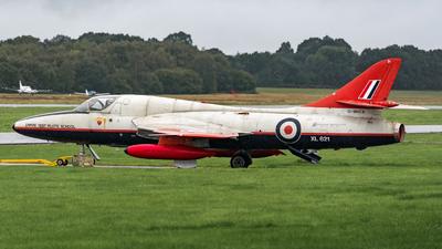 XL621 - Hawker Hunter T.7 - United Kingdom - Royal Air Force (RAF)