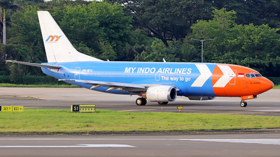 A picture of PKMYC - Boeing 73739K(SF) - My Indo Airlines - © 25suherdyanto