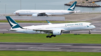 B-LQA - Airbus A350-941 - Cathay Pacific Airways