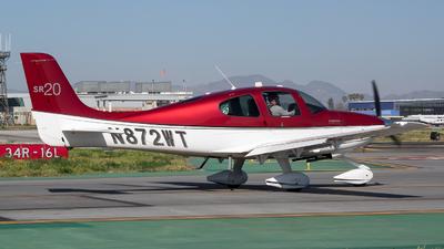 N872WT - Cirrus SR20-G3 - Private