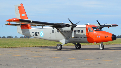 T-87 - De Havilland Canada DHC-6-200 Twin Otter - Argentina - Air Force