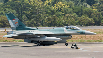 TS-1629 - General Dynamics F-16C Fighting Falcon - Indonesia - Air Force