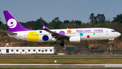 A picture of B6991 - Boeing 73786N - 9 Air - © Miaomiao
