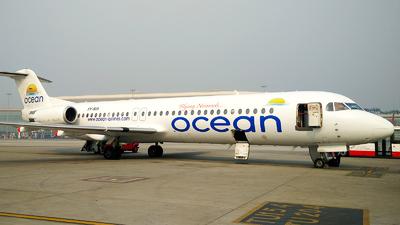 5Y-SIA - Fokker 100 - Ocean Airlines