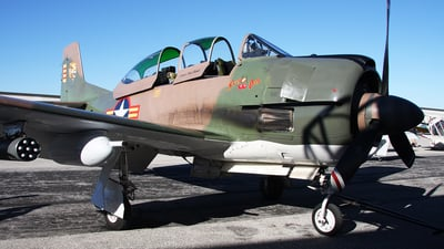 N4168E - North American T-28C Trojan - Private