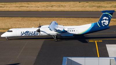 A picture of N405QX - De Havilland Canada Dash 8400 - Alaska Airlines - © Gerry Flores