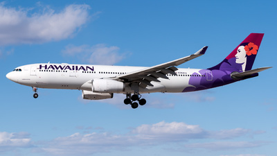 N384HA - Airbus A330-243 - Hawaiian Airlines