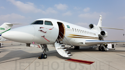 HZ-SPAG - Dassault Falcon 7X - Saudia Private Aviation