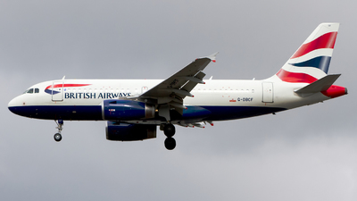 G-DBCF - Airbus A319-131 - British Airways