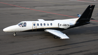F-HBZA - Cessna 550 Citation II - VallJet