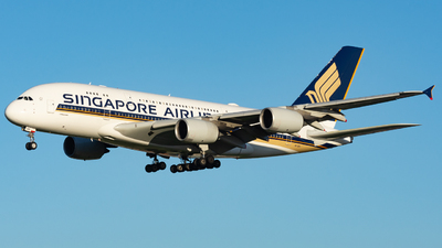 A picture of 9VSKS - Airbus A380841 - Singapore Airlines - © John Zhao