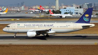 HZ-AS17 - Airbus A320-214 - Saudi Arabian Airlines