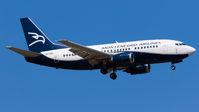 9H-OME - Boeing 737-505 - Montenegro Airlines (Air X Charter)