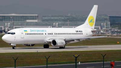 UR-KIV - Boeing 737-4Y0 - AeroSvit Ukrainian Airlines