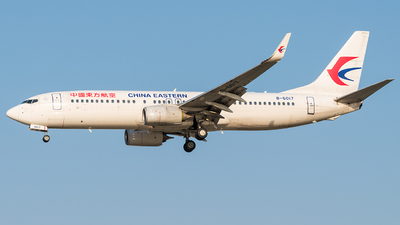 A picture of B6017 - Boeing 73789P - China Eastern Airlines - © Weilin_Qin