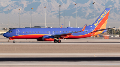 N8613K - Boeing 737-8H4 - Southwest Airlines