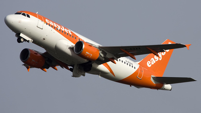A picture of GEZAX - Airbus A319111 - easyJet - © Sam Randles