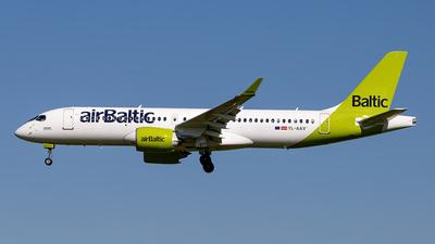 YL-AAV - Airbus A220-371 - Air Baltic