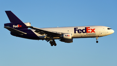 A picture of N313FE - McDonnell Douglas MD1030F - FedEx - © Rocky Wang