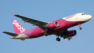 JA818P - Airbus A320-214 - Peach Air