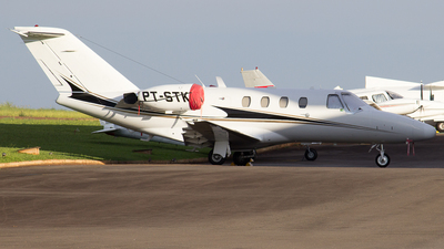 A picture of PTSTK - Cessna 525 CitationJet CJ1 - [5250300] - © Matheus Felipe