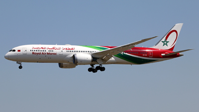 CN-RGZ - Boeing 787-9 Dreamliner - Royal Air Maroc (RAM)