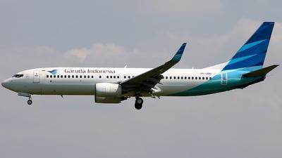 A picture of PKGMG - Boeing 7378U3 - Garuda Indonesia - © Luqman Alif
