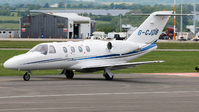 G-CJDB - Cessna 525 CitationJet 1 - Private