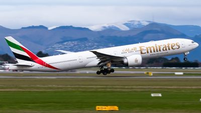 A picture of A6EQP - Boeing 77731H(ER) - Emirates - © Cynthia Guo