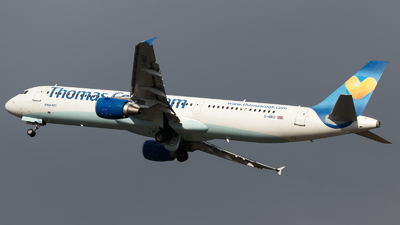 G-NIKO - Airbus A321-211 - Thomas Cook Airlines