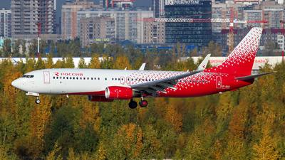 VP-BGR - Boeing 737-8LJ - Rossiya Airlines