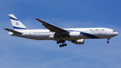 A picture of 4XECD - Boeing 777258(ER) - El Al - © Karsten S.