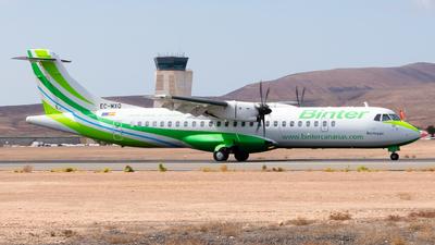 A picture of ECMXQ - ATR 72600 - Binter Canarias - © Pablo Gonzalez de Leon