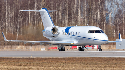 N121SA - Bombardier CL-600-2B16 Challenger 604 - Private