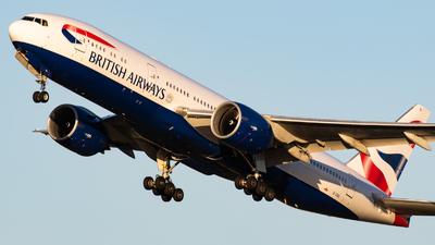 G-VIIG - Boeing 777-236(ER) - British Airways