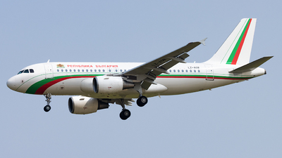 LZ-AOB - Airbus A319-112 - Bulgaria - Government