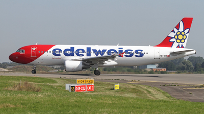 A picture of HBIHY - Airbus A320214 - Edelweiss Air - © Jean-Marie Hanon