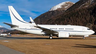 P4-KAZ - Boeing 737-7EJ(BBJ) - Kazakhstan - Government