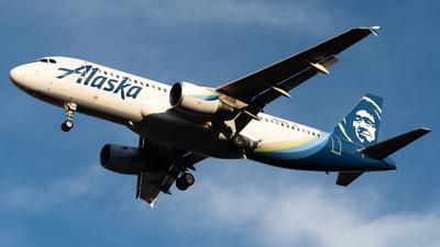 N839VA - Airbus A320-214 - Alaska Airlines