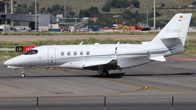 EC-NBS - Cessna Citation Latitude - Private