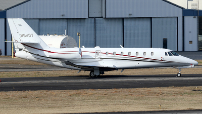 N54DT - Cessna 680 Citation Sovereign Plus - Private