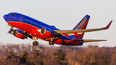 A picture of N261WN - Boeing 7377H4 - Southwest Airlines - © Elliott F Martin